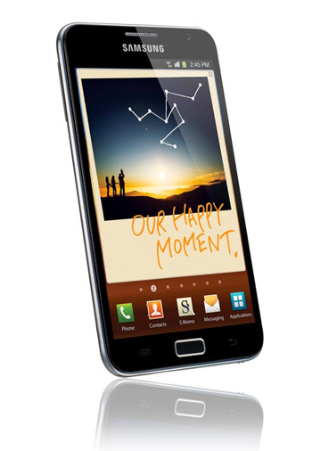 Samsung Galaxy Note pronto en México