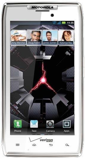 Motorola Droid RAZR blanco