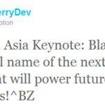 BlackBerry 10 nombre oficial de la siguiente plataforma de BlackBerry