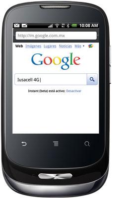 Huawei Gaga en Iusacell