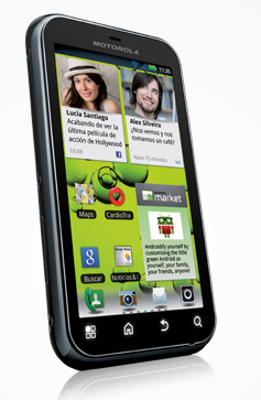 Motorola Defy+ próximamente en México