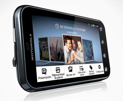 Motorola Defy+ en México