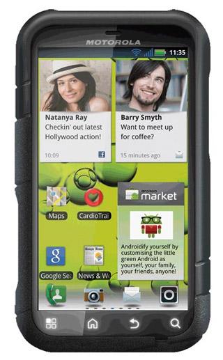Motorola Defy+ JCB