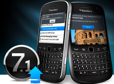 BlackBerry OS 7.1