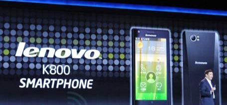 Lenovo K800 el primer smartphone con procesador Intel
