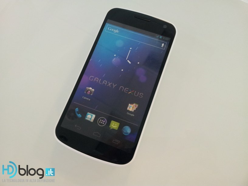 Samsung Galaxy Nexus blanco
