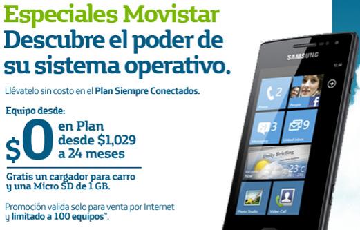 Samsung Omnia W Movistar México