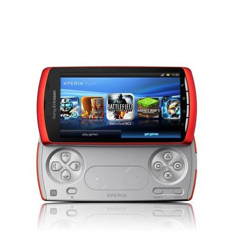 Sony Xperia Play color naranja