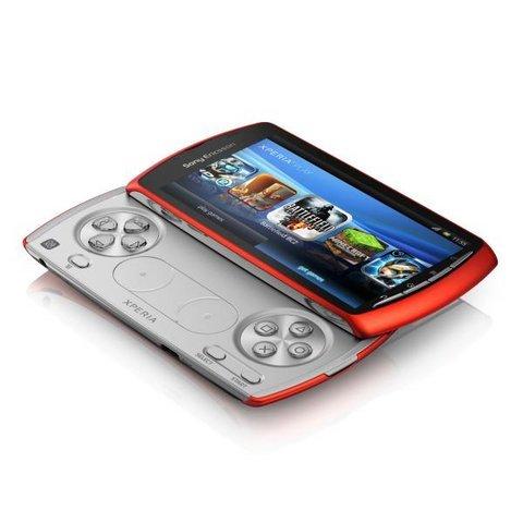 Sony Xperia Play color naranja