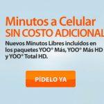 Cablevisión con minutos a celular gratis en México