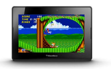 DGEN Emulator PlayBook emulador Sega Megadrive