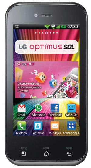 LG Optimus Sol Android 2.3