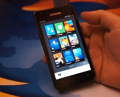 Mozilla Boot to Gecko en un Samsung