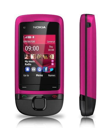 Nokia C2-05 rosa
