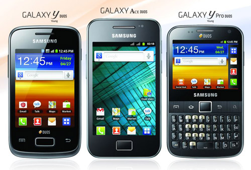 Samsung Galaxy Duos series