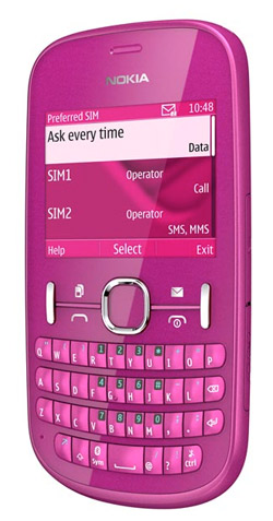 Nokia Asha 201 Unefon
