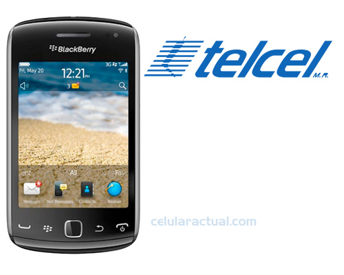 Blackberry Curve 9380 en Telcel