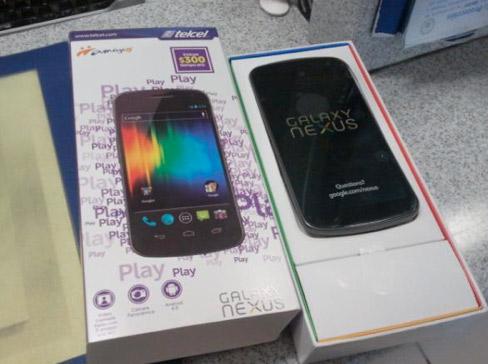 Samsung Galaxy Nexus en Telcel México