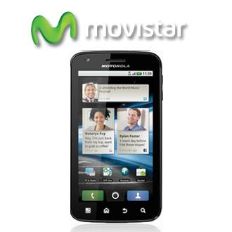 Motorola Atrix ya en Movistar