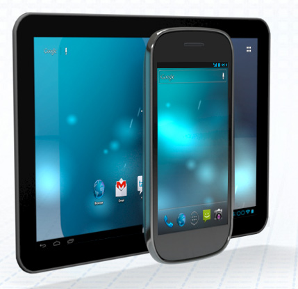 Google Android Tablet y smartphone Nexus