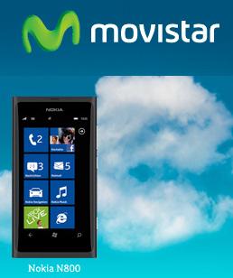 Nokia Lumia 800 en Movistar México