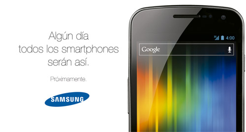 Samsung Galaxy Nexus en México invitación