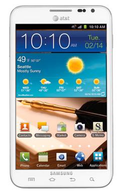 Samsung Galaxy Note Blanco