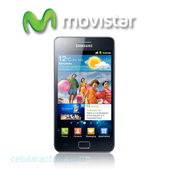Samsung Galaxy S II ya en Movistar México