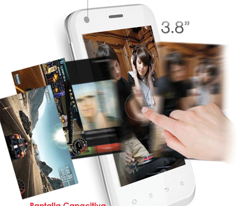 Zonda Raging un 3G con Android 2.3