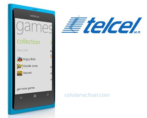 Nokia Lumia 800 ya en México con Telcel