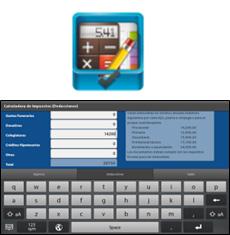 Aplicación Calcula tus Impuestos Anuales para BlackBerry PlayBook