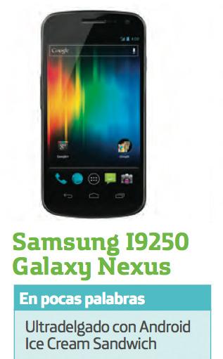 Samsung Galaxy Nexus pronto en Movistar México