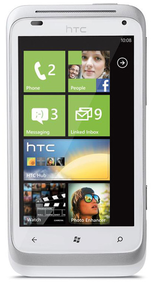 HTC Radar pronto en México con Windows Phone Mango