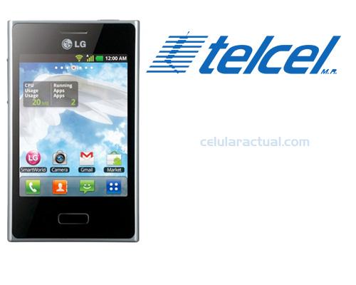 LG Optimus L3 con Android ya en México con Telcel llega en color blanco