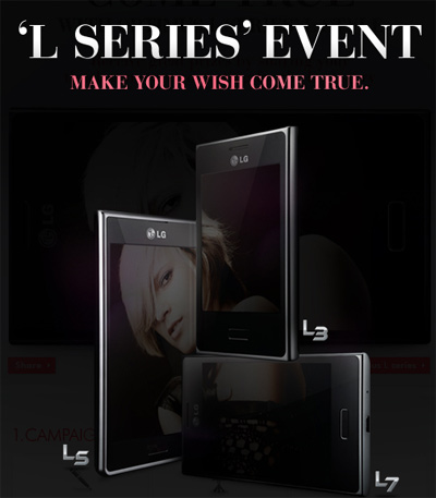 LG Optimus L series pronto en México