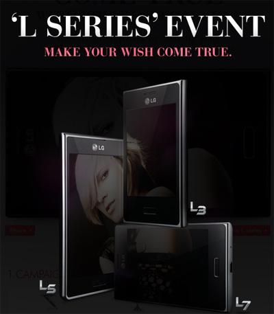 LG Optimus L series pronto en México