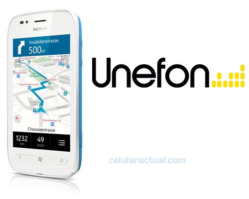 Nokia Lumia 710 ya en Unefon