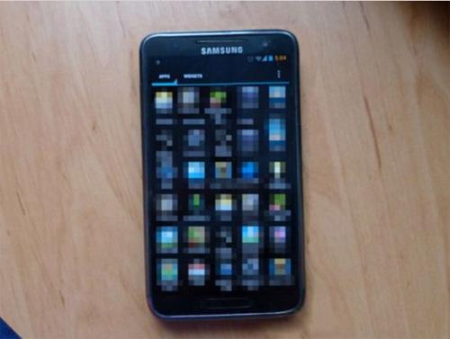 Foto en vivo del Samsung Galaxy S III