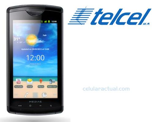 NEC Medias 101t llega a México con Telcel un Android a prueba de agua