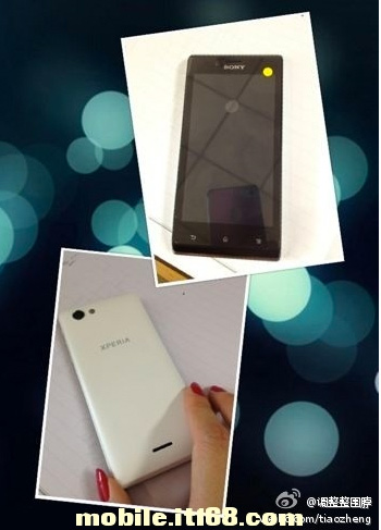 Sony Xperia ST26i filtrado