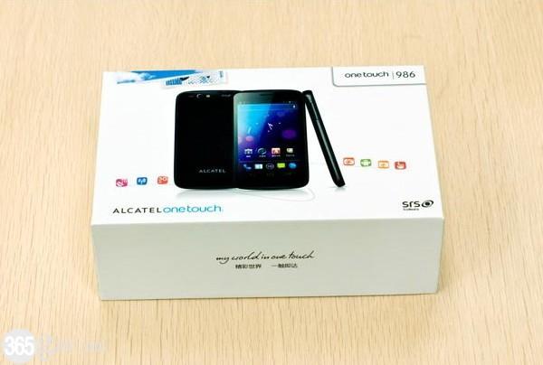 Alcatel OT986 con Android Ice Cream Sandwich