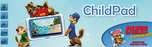 Archos lanza su Child Pad su tablet para niños con Android Ice Cream Sandwich