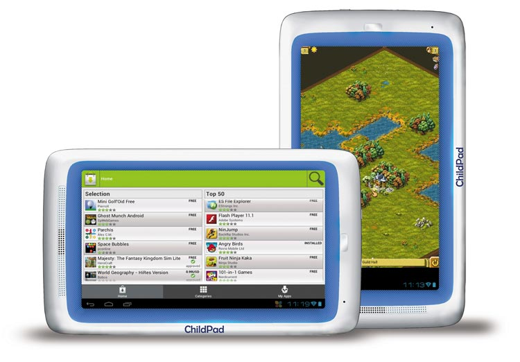 Archos Child Pad con Android 4.0 Ice Cream Sandwich