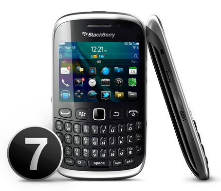 BlackBerry 9320 ya en México con Telcel y Movistar