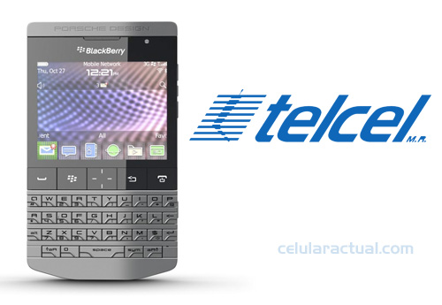 BlackBerry Porsche Design P'9981 en Telcel