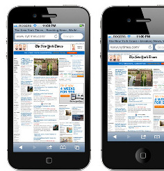 iPhone con pantalla de 3.9 pulgadas y 640 x 1136 de resolución en pruebas