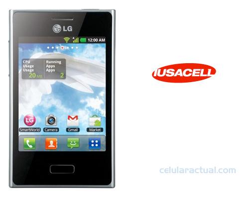 LG L3 E400F llega a Iusacell