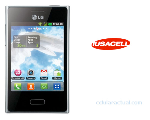 LG Optimus L3 en Iusacell México