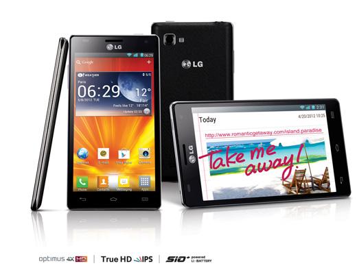 LG Optimus 4X HD con Quad-core a 1.5 GHz