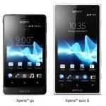 Sony anuncia sus Xperia go y Xperia acro S dos Android a prueba de agua y polvo
